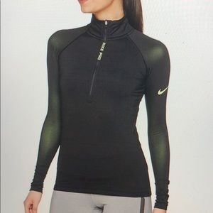 Nike women's PRO Hyper-warm long sleeve
